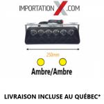 Lumières stroboscopiques à ventouse ultra-légères 18W  (Choix de couleurs)