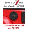 COUVERCLE DE BOUCHON À ESSENCE POUR JEEP WRANGLER JK 2007-2017