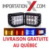2 X BARRE DEL - LED 4'' 36W/60W 3600L/6000L SPOT/STROBE