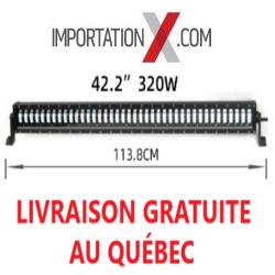 BARRE LED HI/LO 120W/320W NOIR