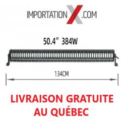 BARRE LED HI/LO 144W/384W NOIR