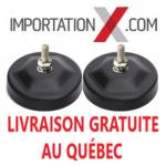 BASE MAGNÉTIQUE POUR LUMIÈRE DEL - LED 3''