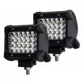2 X BARRE DEL - LED 4'' 72W 7200L SPOT