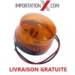 1 X STROBE DEL - LED COMPACT ORANGE 12V