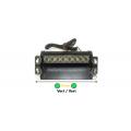 Lumières stroboscopiques à ventouse ultra-légères 24W Vert / Vert