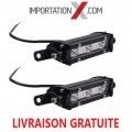 2 X BARRE DEL - LED 4'' 9W 900L FLOOD