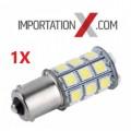 BULBE DEL - LED #1156 BLANC 12V 21W 27SMD