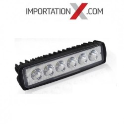 BARRE DEL - LED 6'' 18W 1260L SPOT