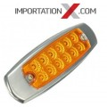 1 X Lumière LED Ambre pour remorque