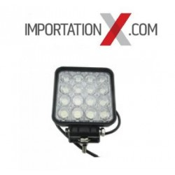 1 X DEL - LED CARRÉ 48W 4'' FLOOD
