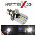 LED H4 HI/LO POUR MOTO 800 LUMENS