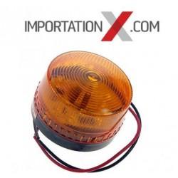 STROBE DEL - LED COMPACT ORANGE 12V