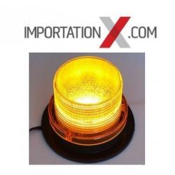 1 X BALISE CLIGNOTANTE AMBRE 12V / 24V