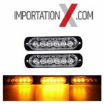 2X STROBE DEL - LED 18W (Choix de couleurs)