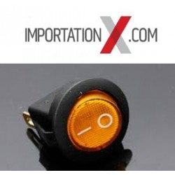 1X SWITCH 12V 16A LED Ambre