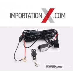 1 X Ens d' installation et télécommande à distance pour barre DEL - LED