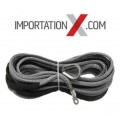 "CABLE SYNTHÉTIC 4.8mm X 50' UHMWPE 5500 LBS GRIS 3/16"" X 50' ***PROMO PRINTEMPS ***"